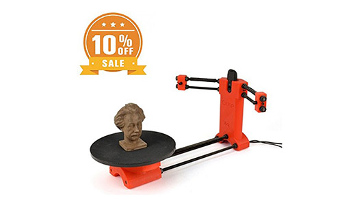 7. Ciclop Lasing 3D Scanner Kit Reprap 3D Open Source DIY B 3D Scanner.