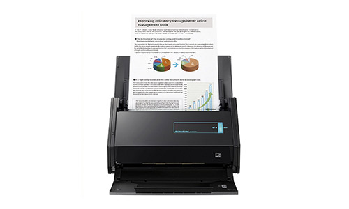 1. Fujitsu ScanSnap iX500 Color Duplex Desk Scanner for Mac and PC