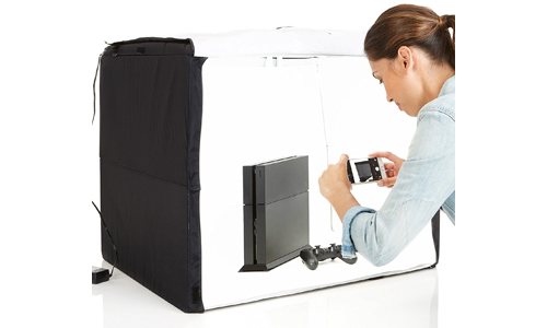 10. AmazonBasics Portable Photo Studio