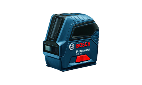 7. Bosch Self-Leveling Cross-Line Laser GLL 55