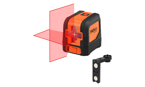 2. Tacklife SC-L01-50 Feet Laser Level Self-Leveling Horizontal and Vertical Cross-Line Laser