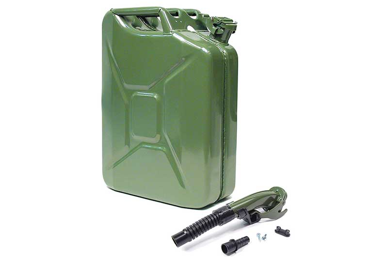 Atlantic British Ltd. Wavian 20 Liter (5 Gallon) NATO Jerry Can (GJC20) with Flexible Spout