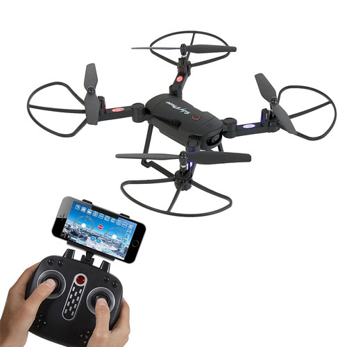 SereneLife SLRD18 Wifi FPV Foldable Drone with HD Camera and live Video Quadcopter