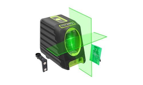 5. Self-leveling Laser Level - Huepar Box-1G 150ft/45m Outdoor Green Cross Line Laser Level