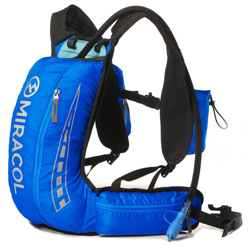 MIRACOL Hydration Vest Backpack with 2L BPA FREE Bladder Lightweight pack for Running Hiking Camping Cycling
