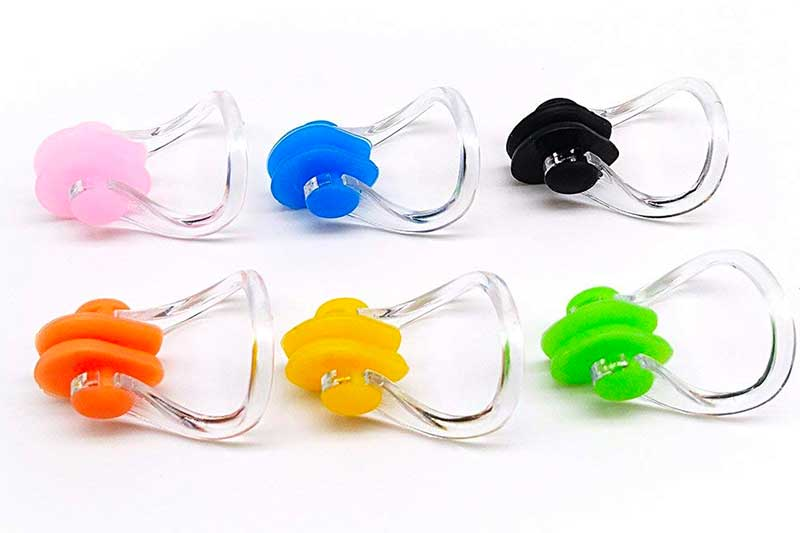 BRBD Waterproof Silicone Swimming Nose Clip Plugs for Adults Children