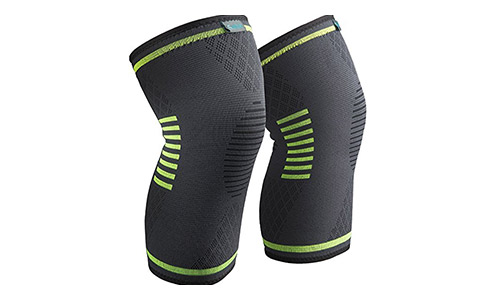 9. Sable Knee Brace Support Compression Sleeves