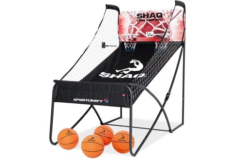 Shaq Basketball Arcade Double Hoop Big Shot Conventional Plus Online App Game (Deluxe Premium)
