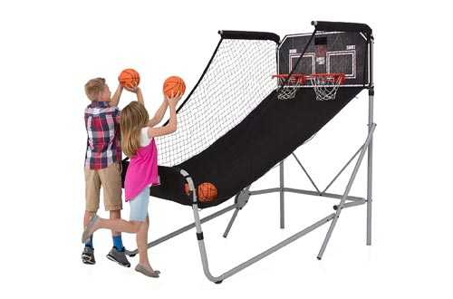 Lifetime 90648 Double Shot Deluxe Basketball Arcade Game