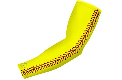 bucwild Sports Compression Arm Sleeve - Youth & Adult Sizes - Baseball Football Basketball by Sports (1 Arm Sleeve)