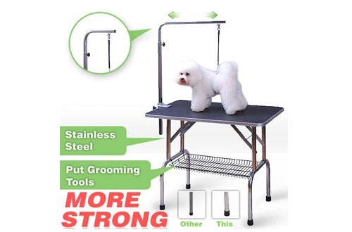Top 10 Best Dog Grooming Tables Reviews In 2018