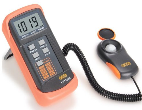 Dr.Meter LX1330B Digital Illuminance/Light Meter-UV Meters