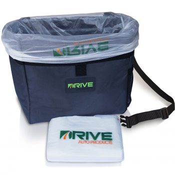 Drive Auto Products Car Trash Cans and Bags