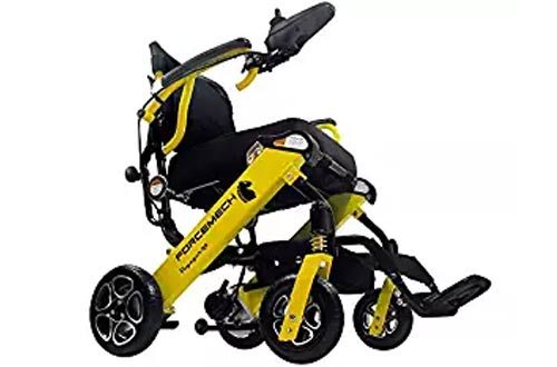 Forcemech Power Wheelchair - NEW Voyager R2, Ultra Portable Electric Folding Mobility Aid