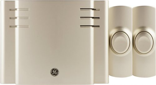 GE Wireless Doorbell Kit, 8 Melodies
