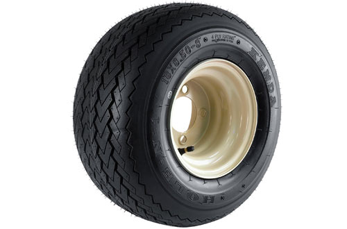 4-Hole Wheel & Tire Combination