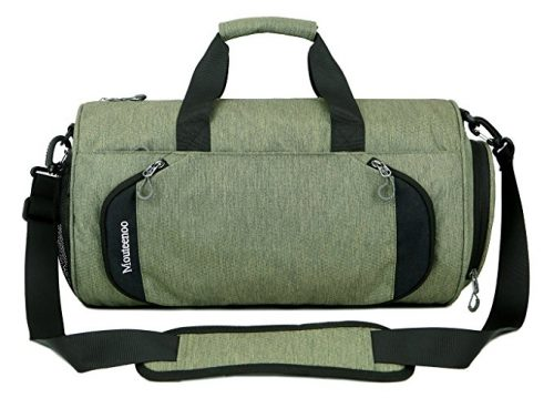 2349a1b30 Gym Sports Small Duffel Bag for Men and Women with Shoes Compartment -  Mouteenoo