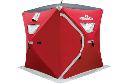 Ice Cube Two Man Instant Shelter by ThunderBay