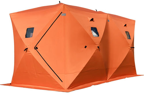 TANGKULA Portable Waterproof Ice Shelter