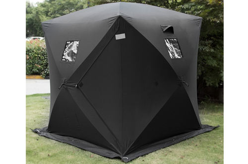 2 Person Pop-up Portable Ice Fishing Shelter