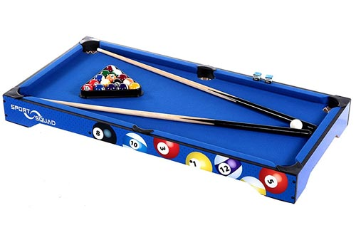 "Sport Squad Bx40 40"" Billiard Table-Top Table"