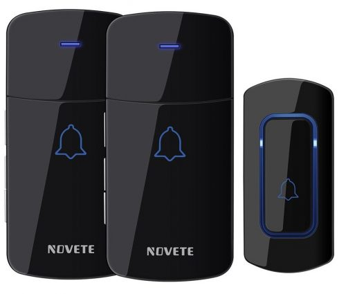 NOVETE SGNV004ABUS Wireless Doorbell Waterproof Chime Kit Operating