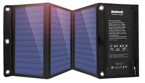 Nekteck 21W Solar Charger-Solar Phone Chargers