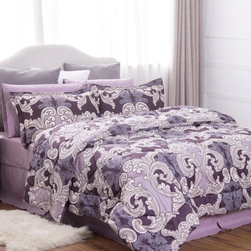 Ocean Wave Pattern Comforter Set
