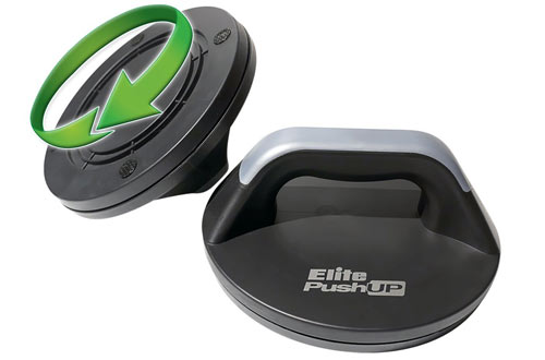 Elite PushUp Bars - Makes Pushups Very Comfortable on the Hands