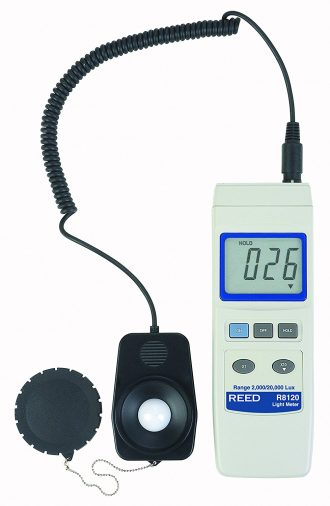 REED Instruments R8120 Lux Light Meter