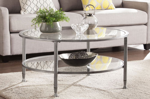 Top 10 Best Round Glass Coffee Tables Reviews In 2018