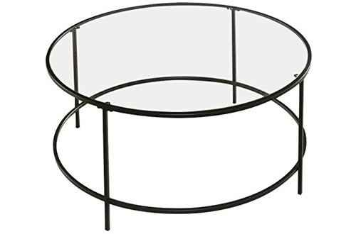 Sauder Soft Modern Round Coffee Table