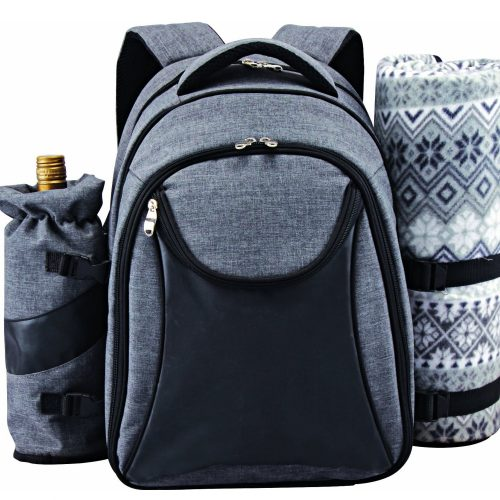 Scuddles Picnic Backpack Basket Wine Cooler