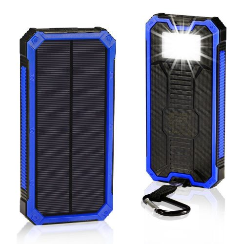 Solar Chargers 30,000mAh, LMS Portable Dual USB Solar Battery Charger
