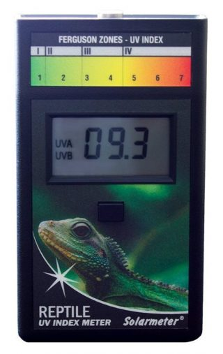 Solarmeter Model 6.5R Reptile UV Index Meter