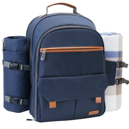 Sunflora Picnic Backpack For 4 Person Set