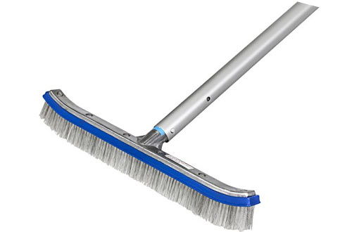 AquaAce Premium Combo Nylon/Stainless Steel Wire Bristle Pool Brush