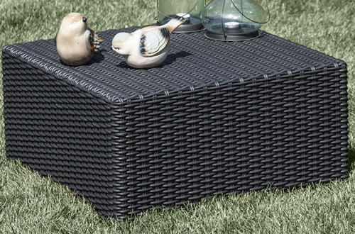 Keter California All-Weather Outdoor Patio Coffee Table