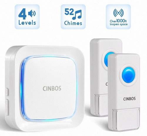 Wireless Doorbells Kit Cinbos Wireless Doorbell for Home