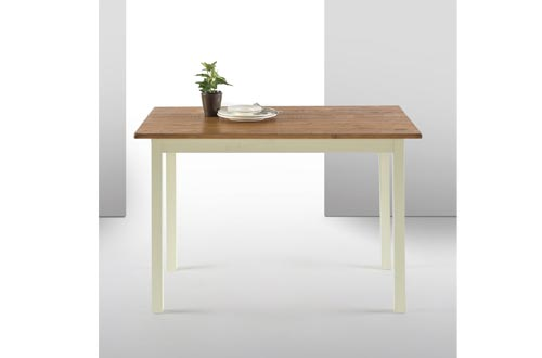 Zinus Farmhouse Wood Dining Tables/Table Only