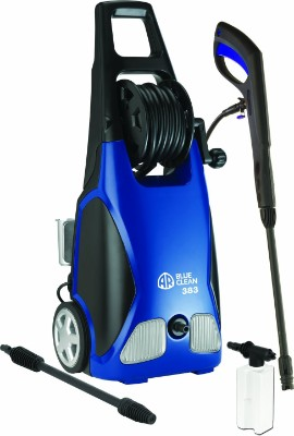 AR Blue Clean AR383 1,900 PSI Electric Pressure Washer, Nozzles, Spray Gun, Wand