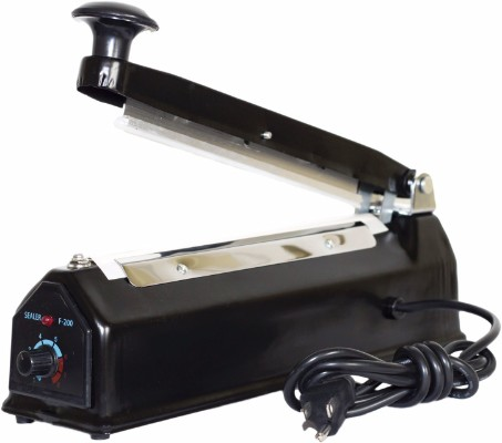 "Bag-N-Seal Impulse - Cellophane Bag Sealer with Extra Heating Element & Teflon Sheet, 8""/200mm"