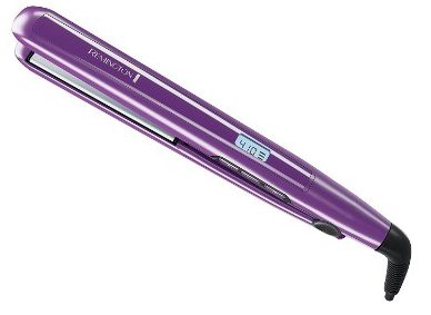 "Remington 1"" Flat Iron with Anti-Static Technology and Digital Controls, Purple, S5500"
