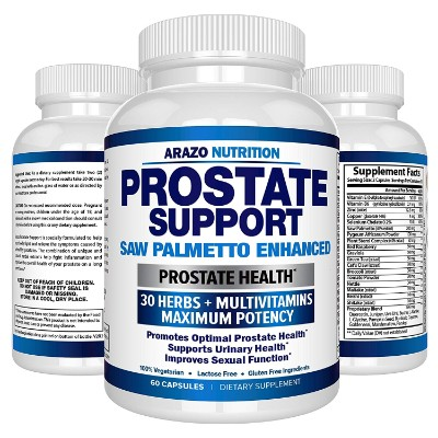 Prostate Supplement - Saw Palmetto + 30 HERBS - Reduce Frequent Urination, Remedy Hair Loss, Libido