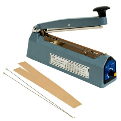 8 (200mm) Impulse Manual Bag Sealer Heat Seal Closer + Free KIT