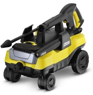 Karcher K3 Follow-Me Electric Power Pressure Washer 4 Rolling Wheels 1800 PSI 1.3 GPM