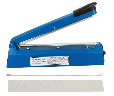 "PrimeTrendz 8"" (Inch) Impulse Heat Sealer - Cellophane Bag Sealer"