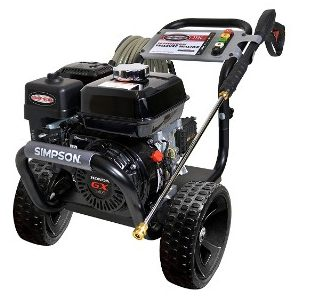 Simpson Cleaning PS3228-S 3300 PSI at 2.5 GPM Gas Pressure Washer Powered by HONDA