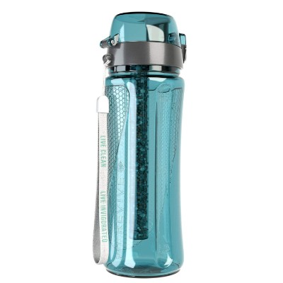 pH REVIVE Alkaline Water Filter Bottle & Carry Case - Water Purifier Bottle