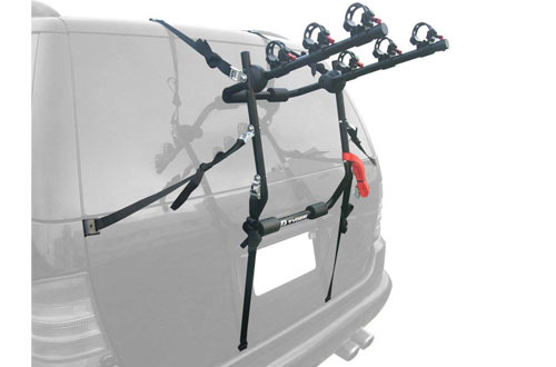 Deluxe 3-Bike Trunk Mount Bicycle Bike Rack